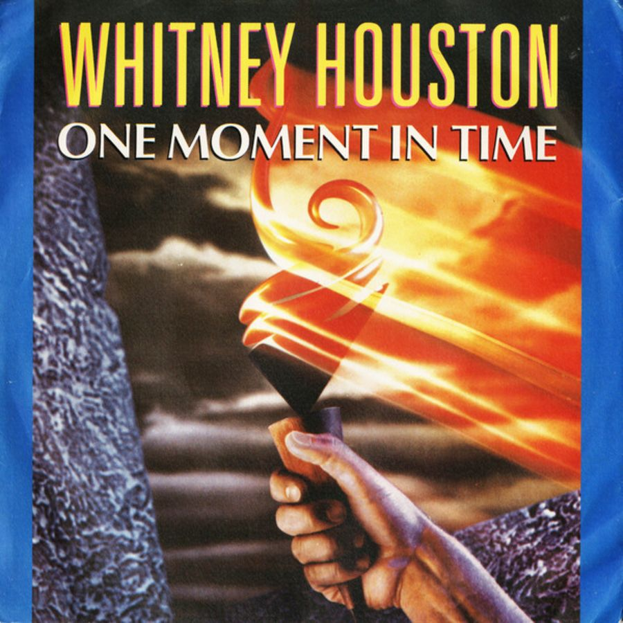 Whitney Houston - One Moment In Time - Vinyl Record 45 RPM ( MS )