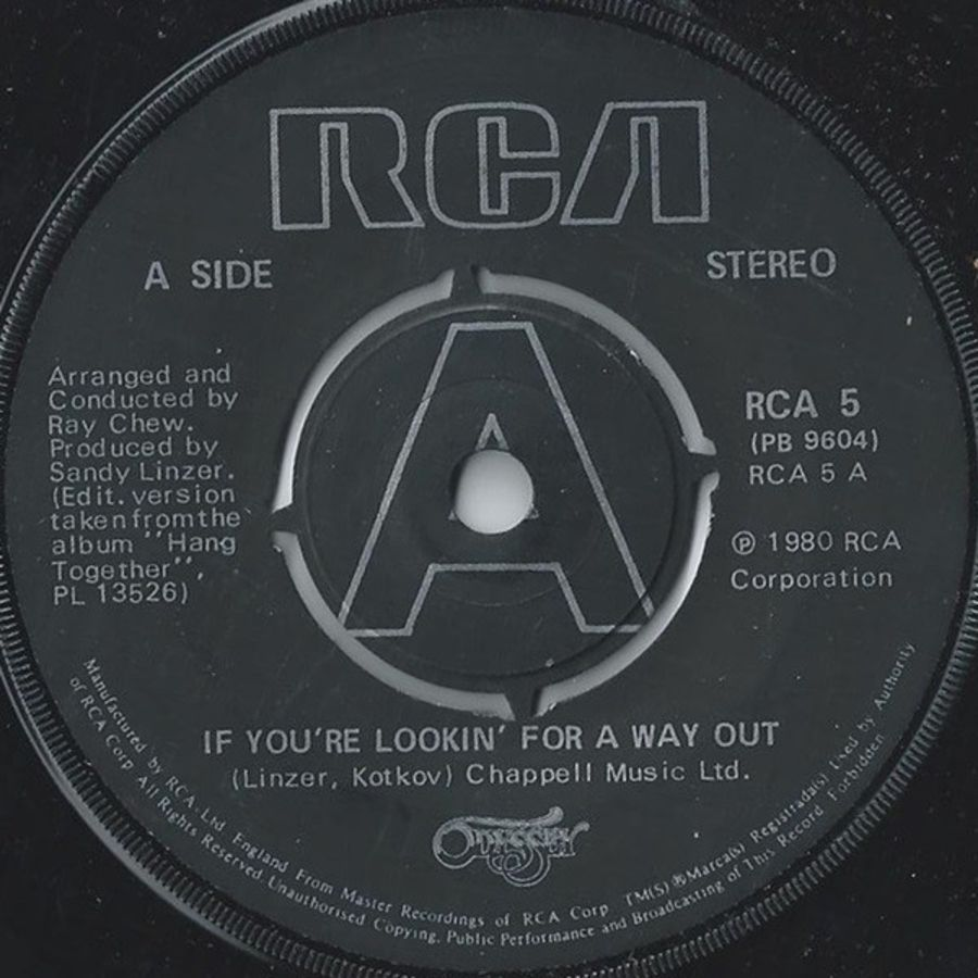 Odyssey ‎– If You're Lookin' For A Way Out - Vinyl Record 45 RPM ( MS )
