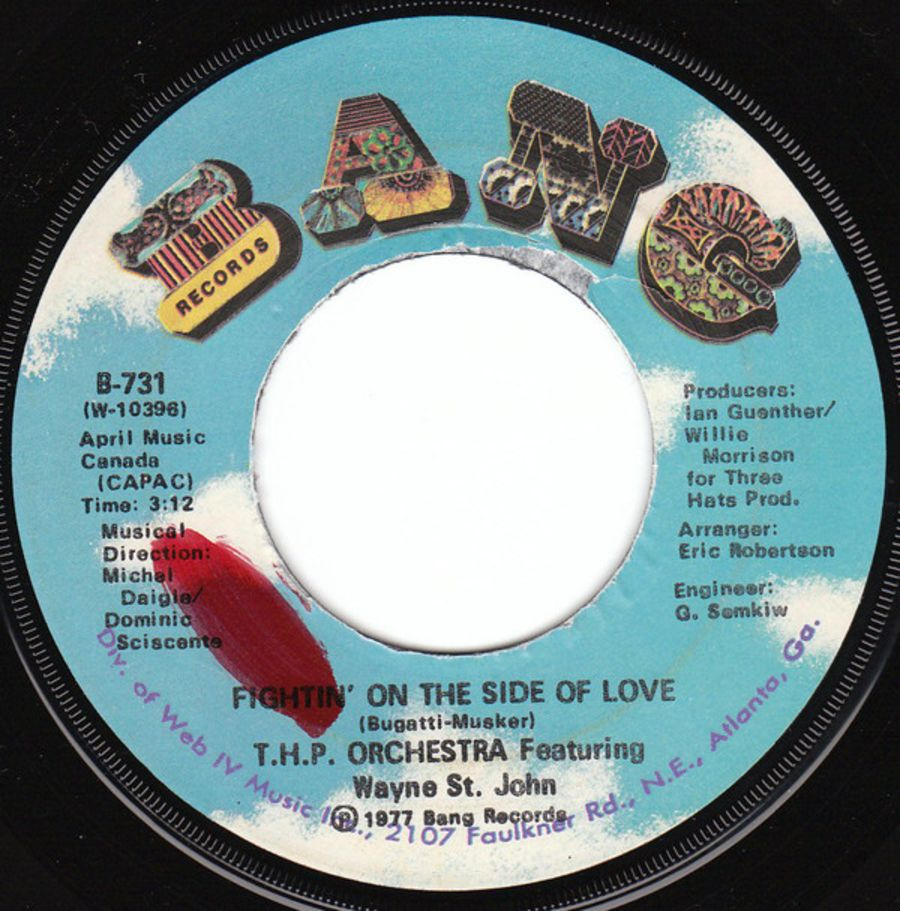 T.H.P. Orchestra* Featuring Wayne St. John – Fightin' On The Side Of Love ( MS )