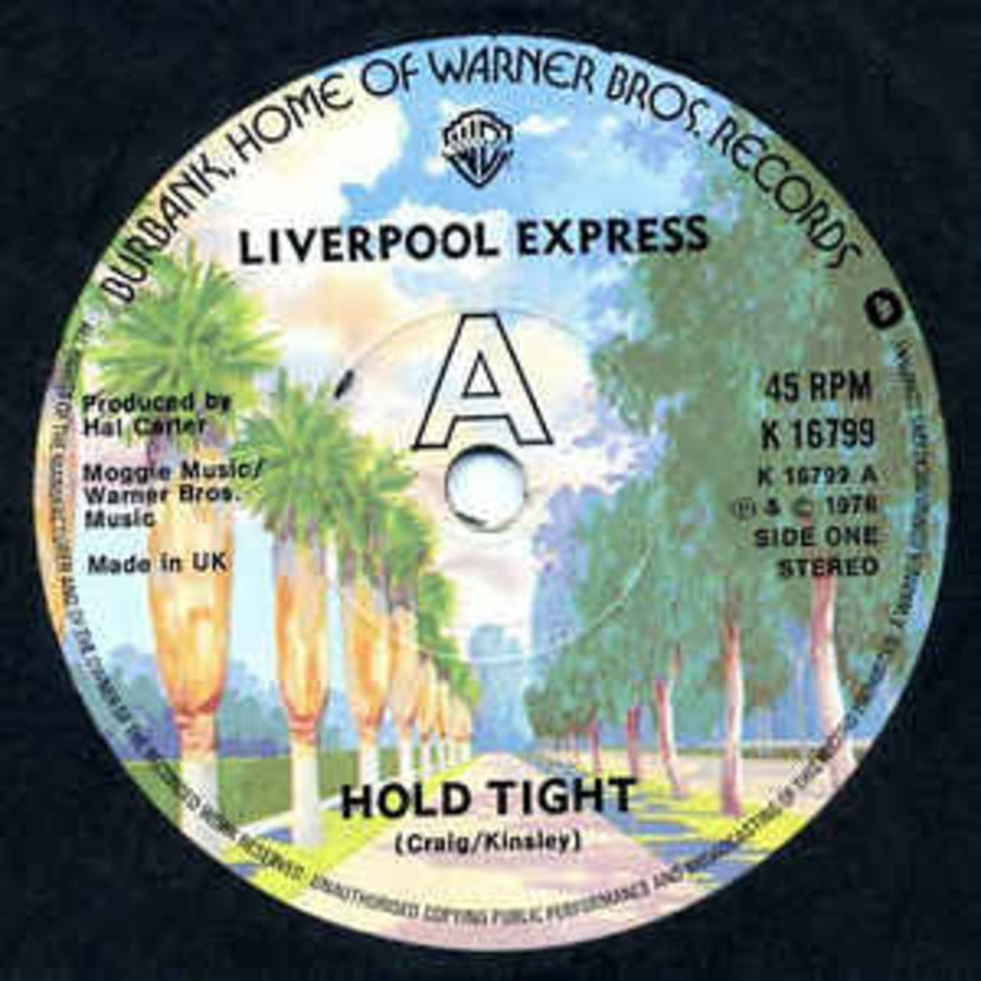 Liverpool Express – Hold Tight - Vinyl Record 45 RPM ( MS )