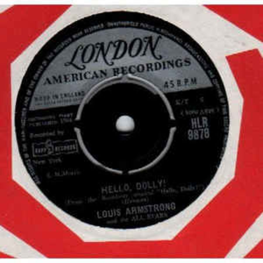 Louis Armstrong And The All Stars* – Hello, Dolly! - Vinyl Record 45 RPM ( MS )