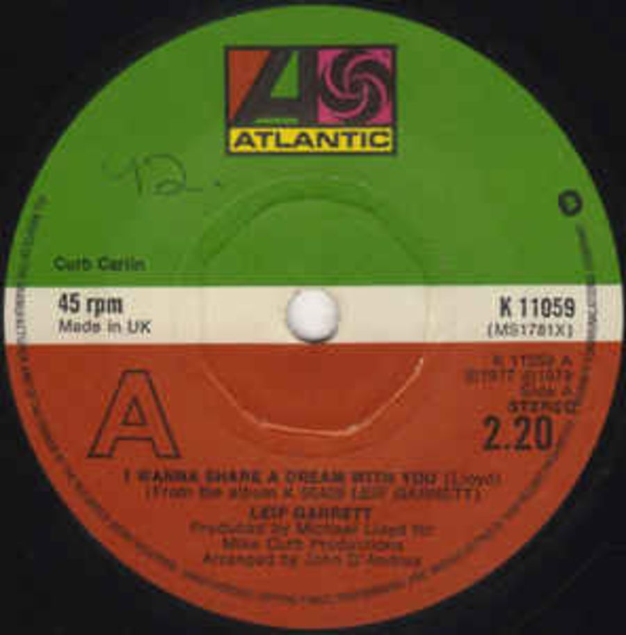 Leif Garrett ‎– I Wanna Share A Dream With You - Vinyl Record 45 RPM ( MS )