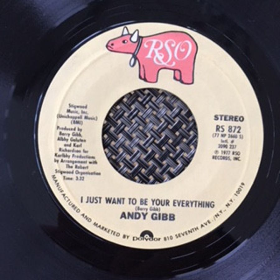 Andy Gibb ‎– I Just Want To Be Your Everything - Vinyl Record 45 RPM ( MS )