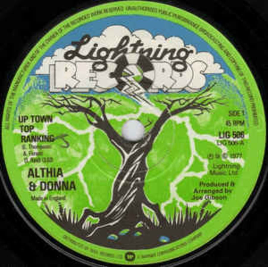 Althia & Donna* / Mighty Two* – Up Town Top Ranking / Calico Suit - Vinyl Record 45 RPM ( MS )