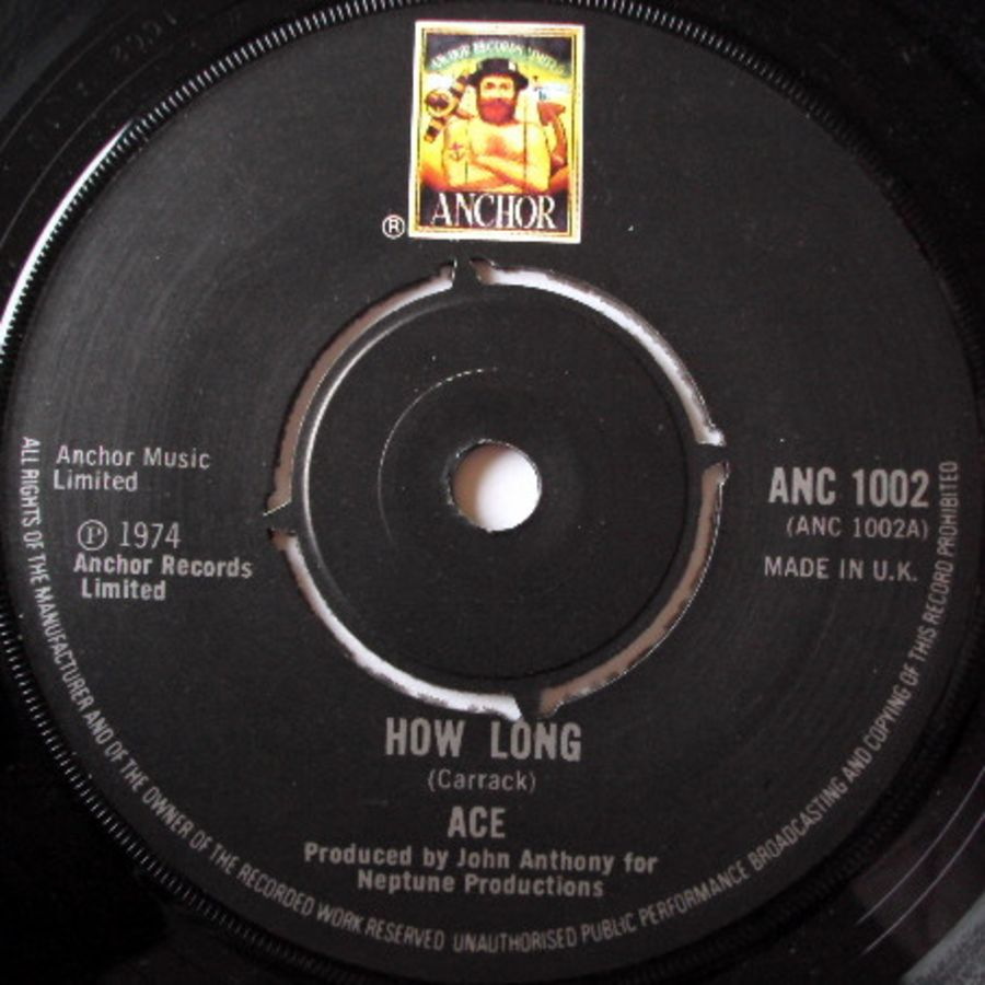 Ace (7) ‎– How Long - Vinyl Record 45 RPM ( MS )
