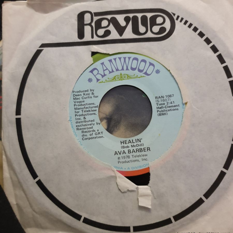 Ava Barber ‎– Healin' - Vinyl Record 45 RPM ( MS )