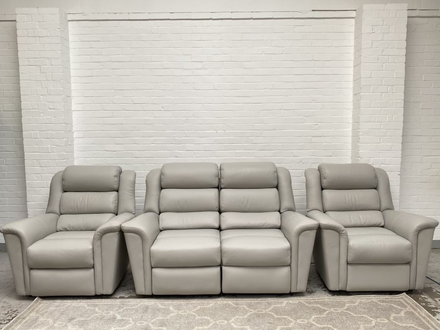 Colorado 2 Seater Power Recliner Sofa+2 Static Armchairs  RRP £5867