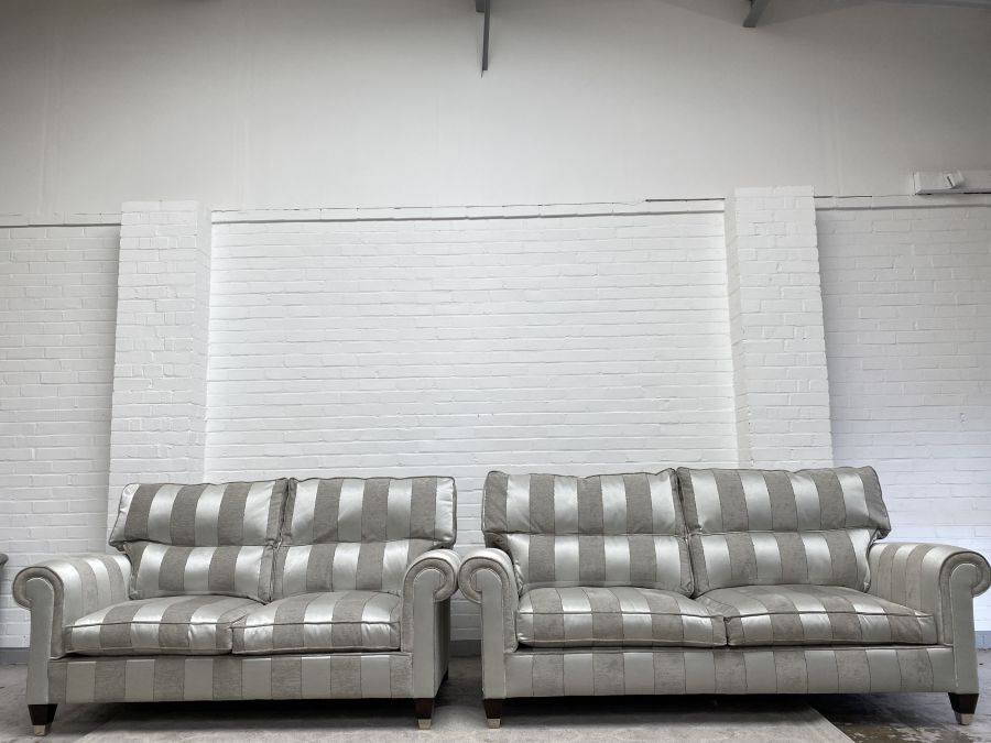 Clarke Large 3 Seater +Large 2 Seater Sofas RRP Over £5000