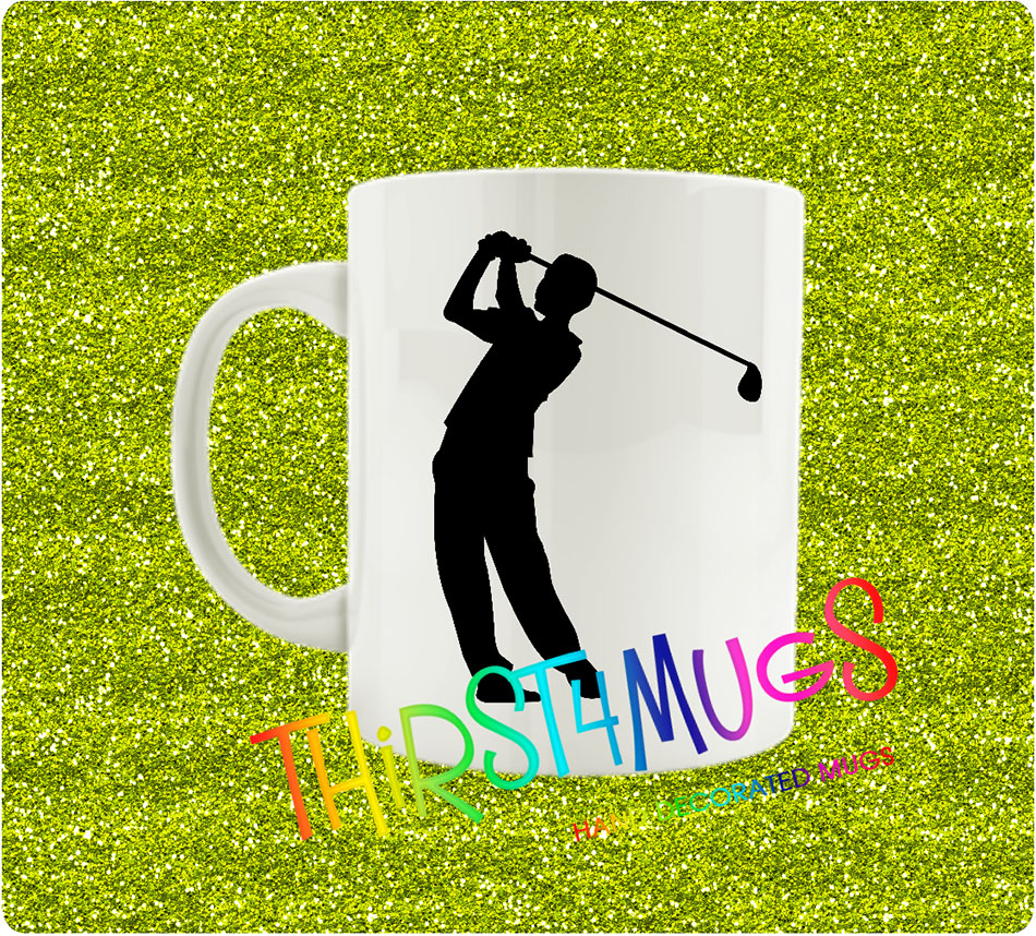 Golf Player Mug