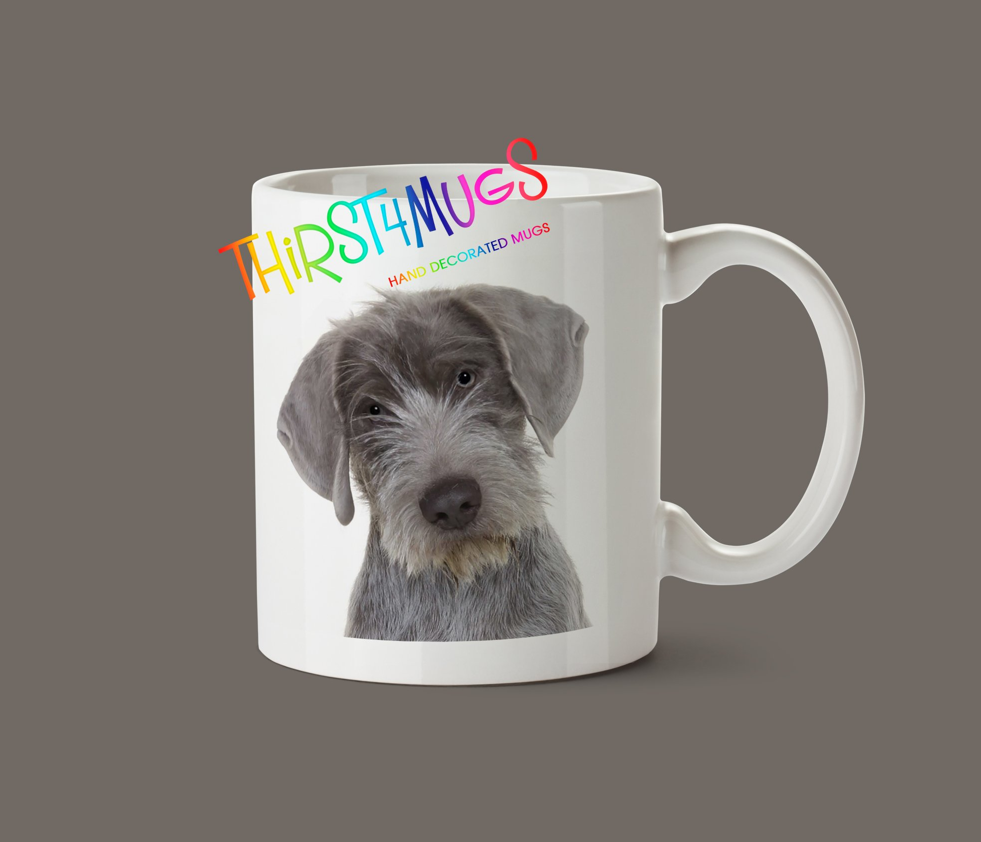 Slovakian Rough Haired Pointer Puppy Mug