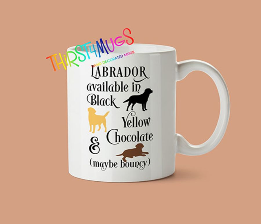 Labrador Colours