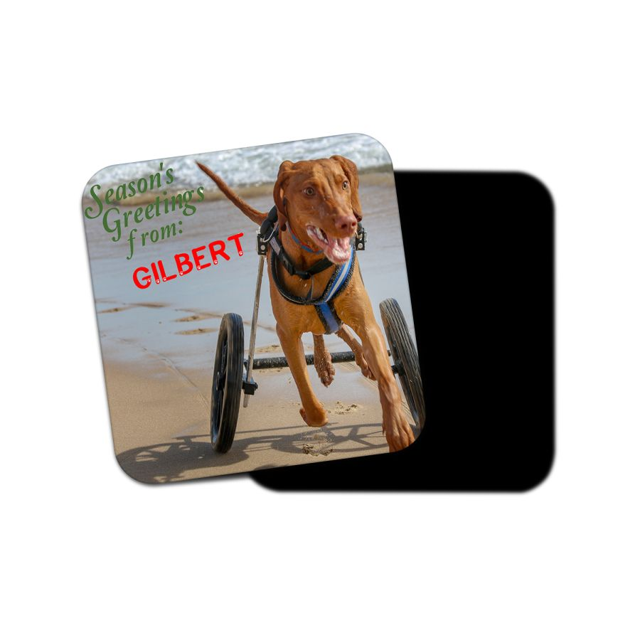 Gilbert Greetings Coaster
