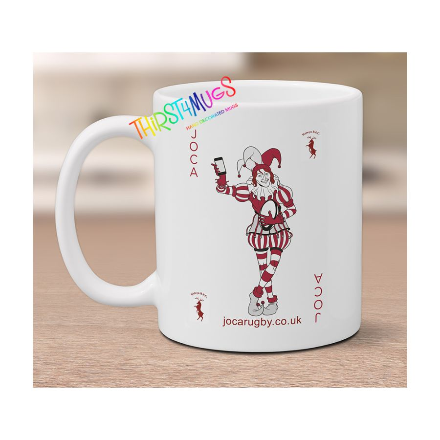 JOCA Mug White Satin