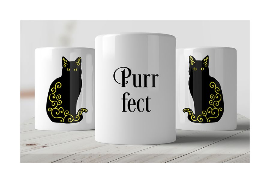 Purr-fect Mug from Chantal's Mugs