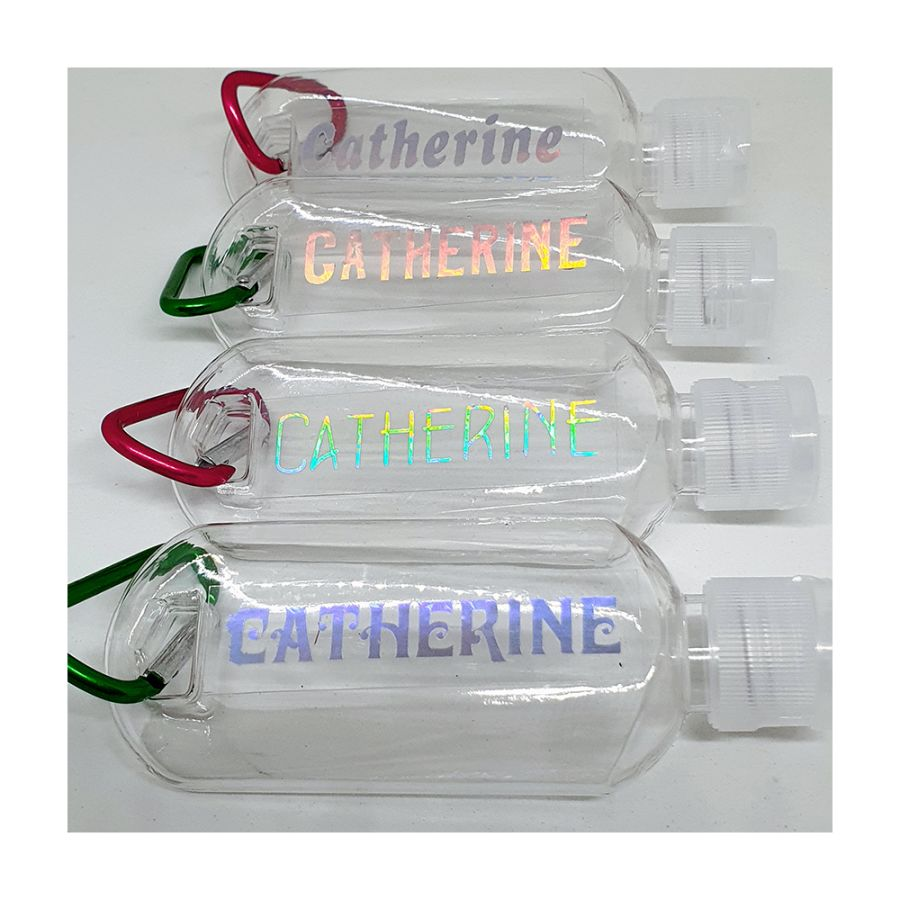 Personalised Hand Sanitiser Bottles (empty)
