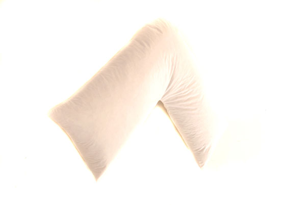 V Pillow Duck Feather