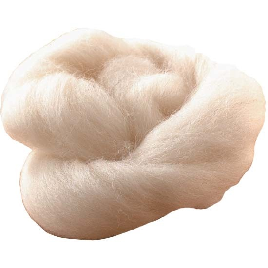Carded Soft Lambs Wool 25g