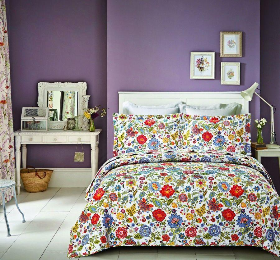 New Flowers Bedspread