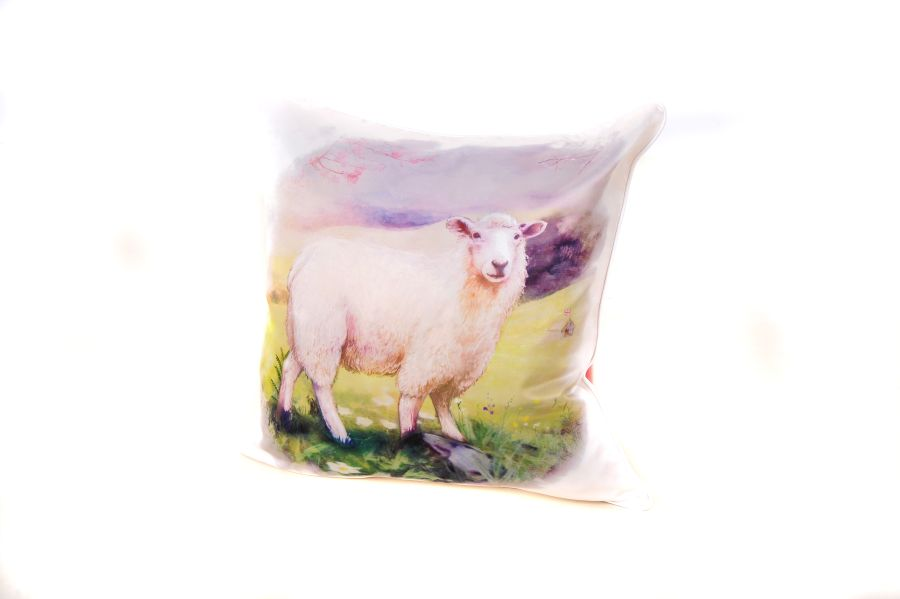 18 x 18 Inch Sheep Cushion Cover
