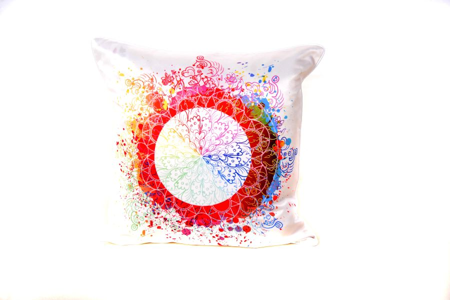 18 x 18 Inch Splash Cushion Cover