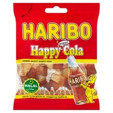 Halal Haribo Happy Cola Original Sweets 100gm