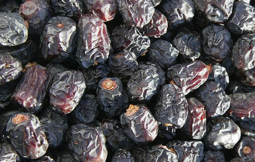 Ajwah Dates Highest Quality (Grade A) Medinah Dates Tomoor Brand 400gm
