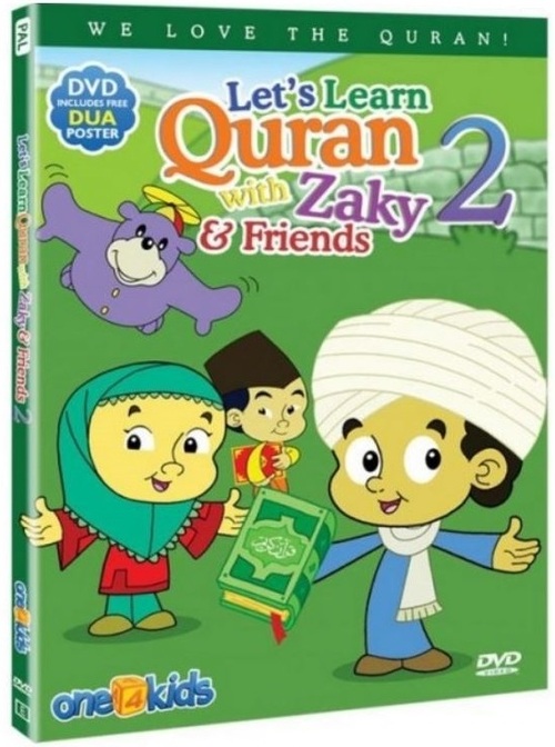 Let's Learn Quran with Zaky & Friends PART 2 DVD