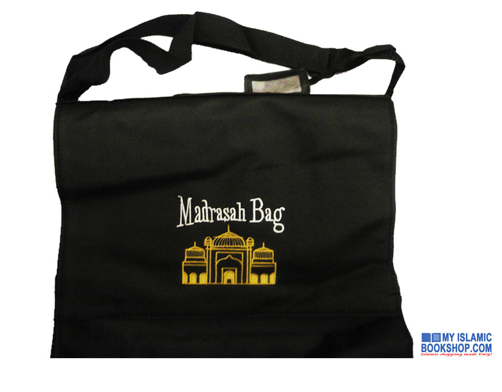 Madrasah Bag Quality Leather Bound Water Proof (Large)