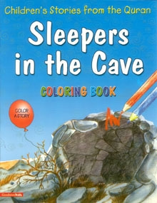 Sleepers in the Cave (Colouring Book)
