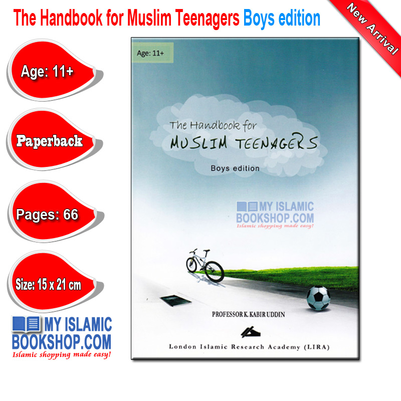 The Handbook for Muslim Teenagers Boys edition