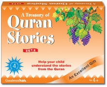 A Treasury of Quran Stories Gift Box -8