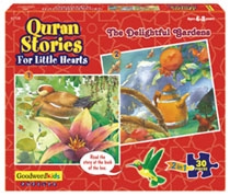 The Delightful Gardens (Box of six puzzles)