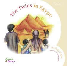 Acorn and Berry Bk-3:The Twins in Egypt by Sajda Nazlee