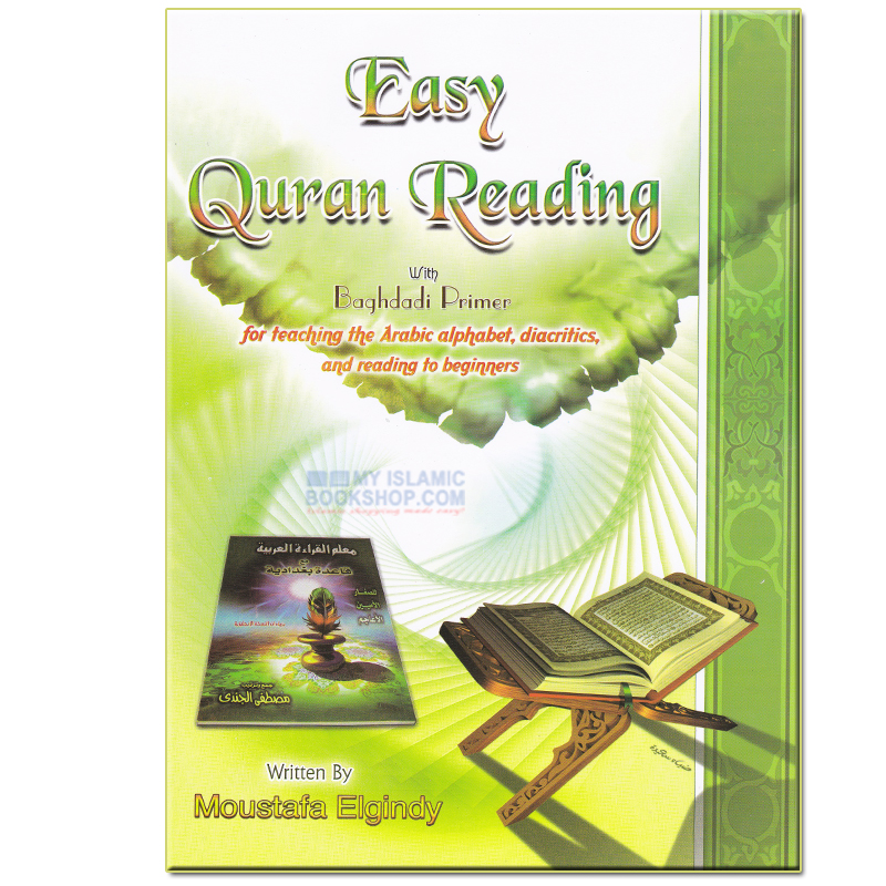 EASY QURAN READING WITH QAIDA BAGHDADI PREIMER