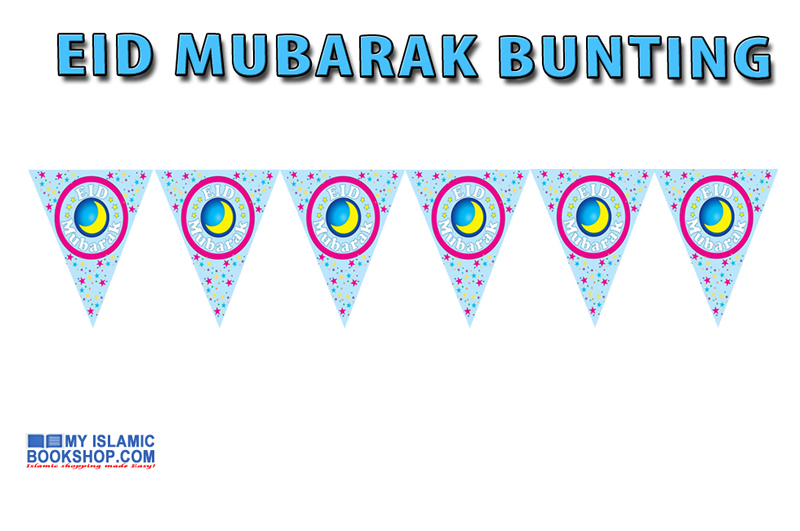 Eid Mubarak Party Bunting