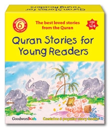 Quran Stories for Young Readers Gift Box (Six Paperback Books)