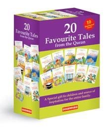20 Favourite Tales from the Quran Gift Box (Ten Hard Bound book)