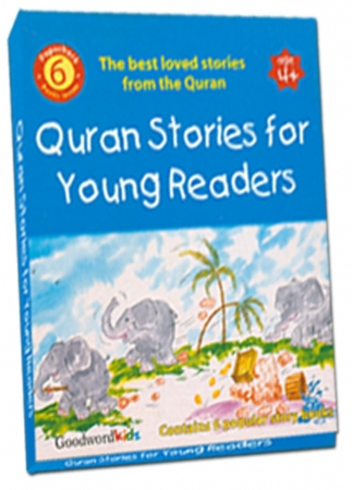 Quran Stories for Young Readers Gift Box (Six Paperback Book)