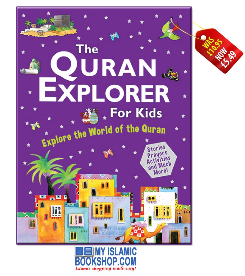 The Quran Explorer For Kids (Hardback)