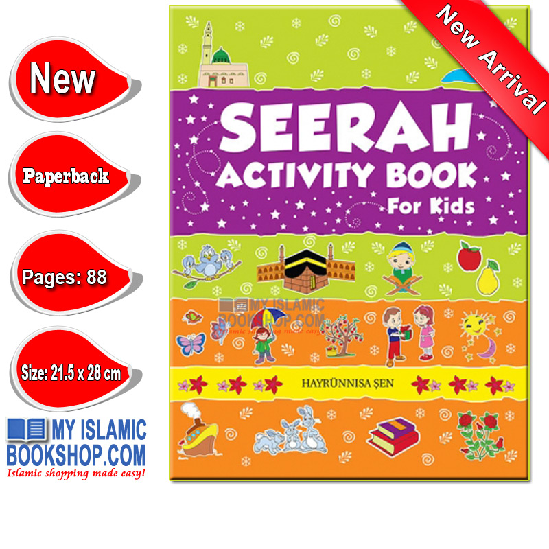Seerah Activity Book for Kids by Goodword Books