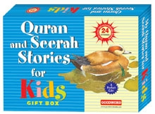Quran and Seerah Stories for Kids Gift Box (Two Hard Bound Books)