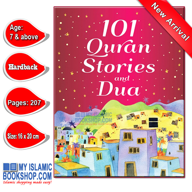 101 Quran Stories and Dua (HB) by Goodword Books