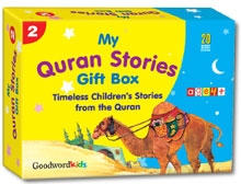 My Quran Stories Gift Box-2 (Twenty Quran Stories for Little Hearts Paperback Books)