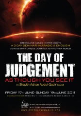 THE DAY OF JUDGEMENT AS THOUGH YOU SEE IT