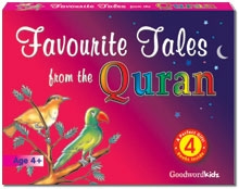 Favourite Tales from the Quran Gift Box (Four Hard Bound Books)