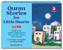 Quran Stories for Little Hearts Gift Box-3 (Six Paperback Books)