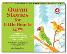 Quran Stories for Little Hearts Gift Box-4 (Six Paperback Books)