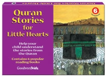 Quran Stories for Little Hearts Gift Box-6 (Six Paperback Books)