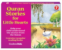 Quran Stories for Little Hearts Gift Box-7 (Six Paperback Books)