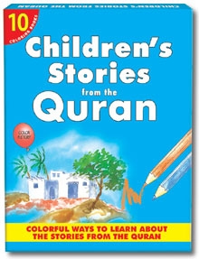 Children's Stories from the Quran (Ten Colouring Books)